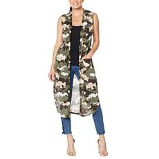 G by Giuliana Sleeveless Duster