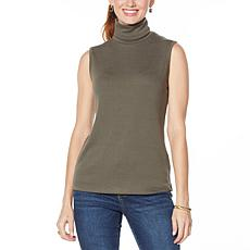 G by Giuliana Sleeveless Mock Neck Top