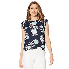 G by Giuliana Sleeveless Printed Top