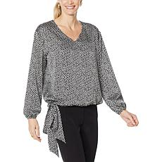 G by Giuliana Tie-Hem Blouse