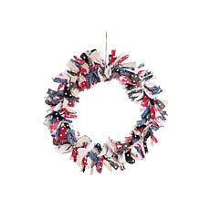 Gallerie II Freedom Rag Wreath