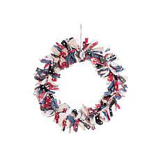 Gallerie II Freedom Rag Wreath