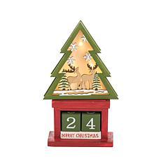 Gallerie II LED Tree Calendar Blocks
