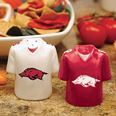Gameday Ceramic Salt and Pepper Shakers - Arkansas
