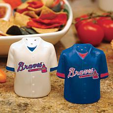 Gameday Ceramic Salt & Pepper Shakers - Atlanta Braves