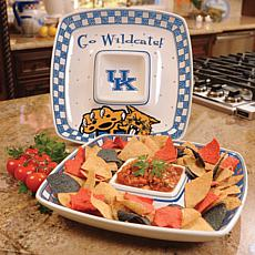 Gameday Chip n Dip Serving Tray - Kentucky Wildcats