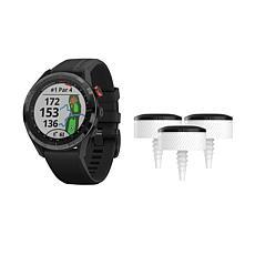 Garmin Approach S62 GPS Golf Smartwatch in Black with Approach Sensors