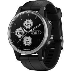 Garmin Fenix® 5S Plus Silver/Black Multisport GPS Watch