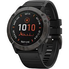 Garmin Fenix 6X Pro Solar GPS Watch in Carbon Gray