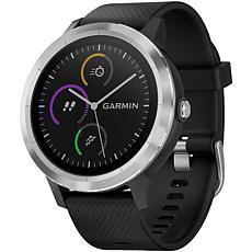 Garmin vivoactive® 3 Smartwatch - Black with Stainless Hardware