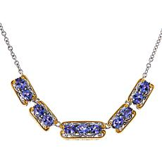 """Gems by Michael 18"""" Gemstone Station Necklace"""