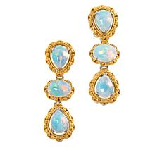 Gems by Michael Valitutti Ethiopian Opal Drop Earrings