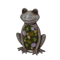 "Gerson 18.3"" Polyresin Frog Sculpture"