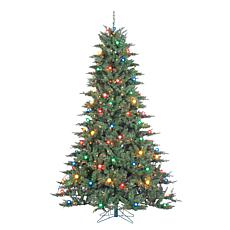 Gerson 7.5' Lighted Reno Pine Tree