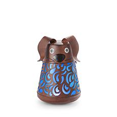 "Gerson Company 13.39"" Solar Lighted Garden Meadow Dog Wobbler"
