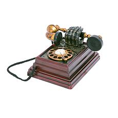 "Gerson Company 8""H Lighted Animated Halloween Telephone w Sound Sensor"