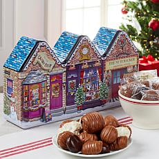 Giannios Candy 3 lb. Holiday Tin of Assorted Chocolates