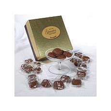 Giannios Pound of Caramel Chocolates in a Golden Box