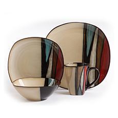 Gibson Elite Althea 16-piece Stoneware Dinnerware Set