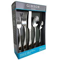 Gibson Graylyn 20 Piece Flatware Set