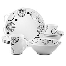 Gibson Home Modern Times 12-piece Dinnerware Set