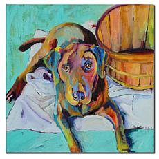 "Giclee Print - Basket Retriever 35"" x 35"""