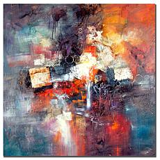 "Giclee Print - Cube Abstract III 35"" x 35"""