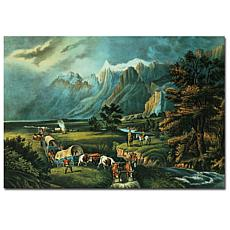 Giclee Print - Emigrants Crossing the Plains