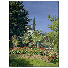 Giclee Print - Flowering Garden at Sainte-Adresse, 1866