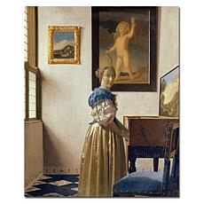 Giclee Print - Lady Standing at the Virginal