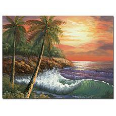 "Giclee Print - Maui Sunset 47"" x 35"""
