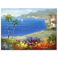 """Giclee Print - Mediterranean Beach 26"""" x 32"""""""