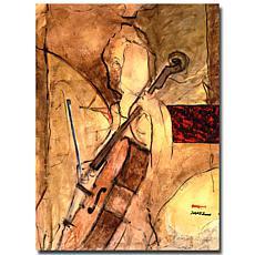 Giclee Print - Old Cello