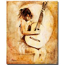 Giclee Print - Soft Guitar
