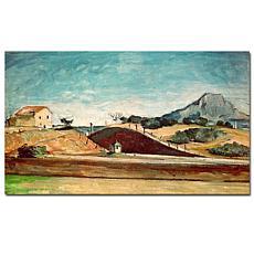 "Giclee Print - The Railway Cutting 1870 24"" x 14"""