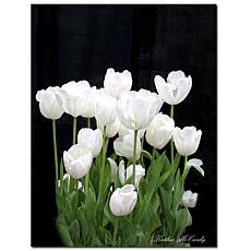 "Giclee Print - White Tulips 35"" x 47"""