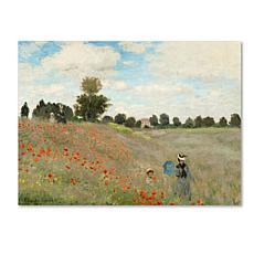 "Giclee Print - Wild Poppies Near Argenteuil 32"" x 24"""