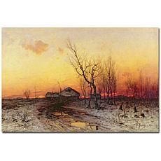 "Giclee Print - Winter Landscape 24"" x 16"""