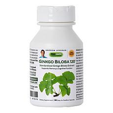 Ginkgo Biloba-120 - 30 Capsules