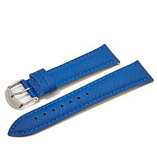 Giorgio Milano Blue Textured Leather Watch Straps