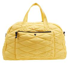 Girlfriend Gear Diamond Quilt Large Duffle Travel Bag