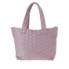 Girlfriend Gear Diamond Quilt Tote Travel Bag