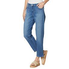 Gloria Vanderbilt Mid-Rise Cropped Boyfriend Jean