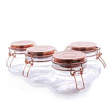 Go Green by Kinetic 4-pack 18 oz. Copper Canning Jars