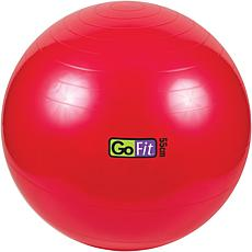 """GoFit Exercise Ball with Pump (21"""" Red)"""