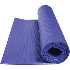 GoFit Sapphire Blue Double-Thick Yoga Mat