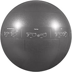 GoFit Stability Ball and Core Training DVD - 75cm