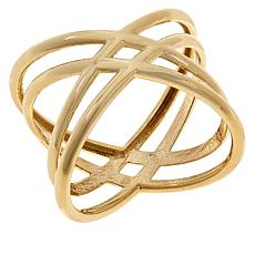 Gold Expressions 10K Gold Criss-Cross Ring