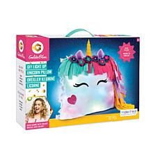 GoldieBlox Light-Up Unicorn Pillow