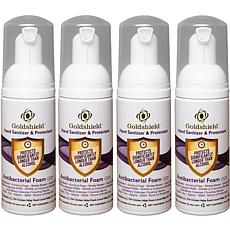Goldshield Moisturizing Hand Sanitizer and Protectant 4-pack